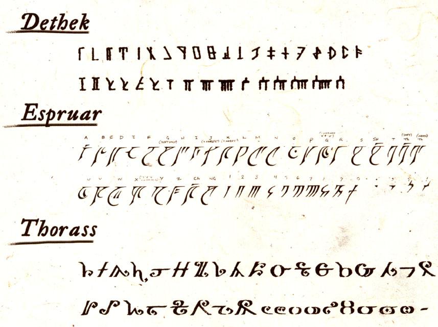 Calendario Faerun.Idiomas De Faerun