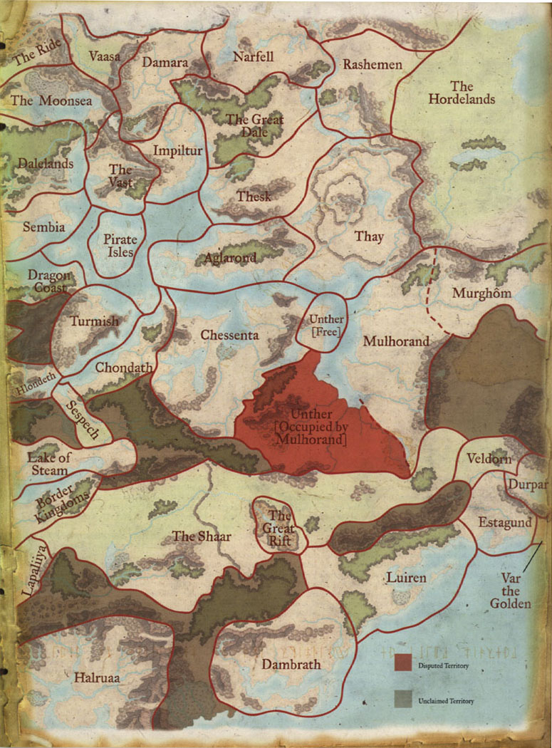 Dragons of Faerun (Dungeons and Dragons d20 3.5 Fantasy R