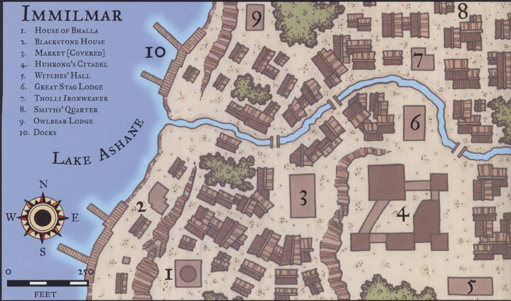 Cities and Sites of Rashemen