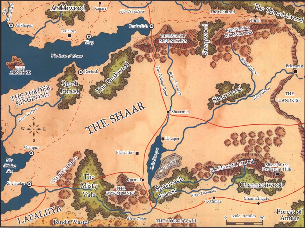 Map of The Shaar Shaar
