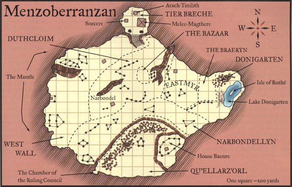 Geography of the Underdark